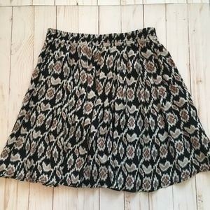 Brandy Melville Boho Mini Skirt Tribal One Size